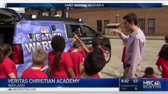 Weather Warrior Visits Veritas Christian Academy