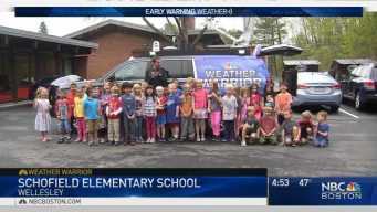 Weather Warrior Visits Schofield Elementary School