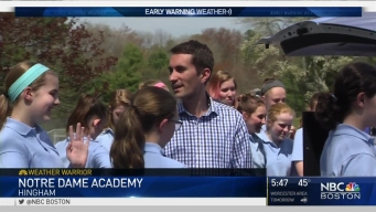 Weather Warrior Visits Notre Dame Academy
