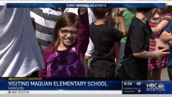 Weather Warrior Visits Maquan Elementary School