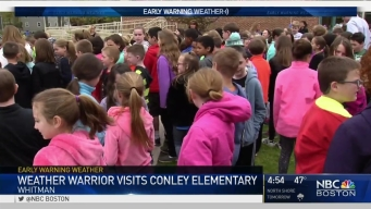 Weather Warrior Visits Conley Elementary
