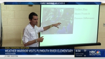 Weather Warrior Visits Plymouth River Elementary