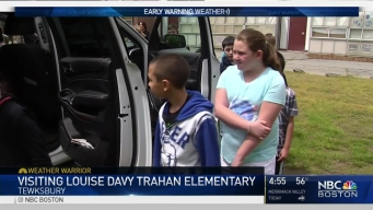 Weather Warrior Visits Louise Davy Trahan Elementary