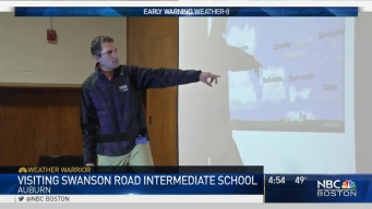 Weather Warrior Visits Swanson Road Intermediate School
