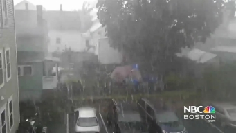 Viewer Video: Hail Comes Down in Lowell, Massachusetts