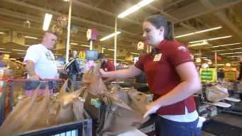 NH Woman Competing to Be Fastest Bagger in Nation