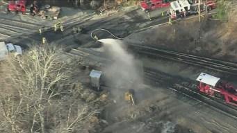 Crews on Scene of Gas Line Break in Upton