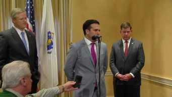 Puerto Rico Governor Meets With Gov. Baker