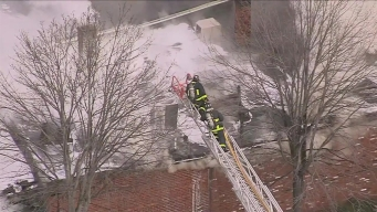 Fire Breaks Out at Dorchester Building