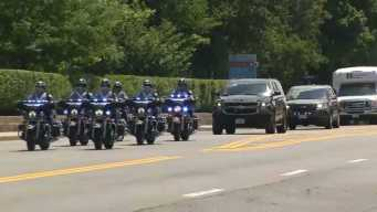 WATCH: Procession for Slain Weymouth Officer