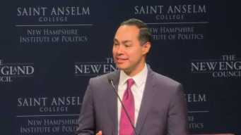 2020 Hopeful Castro Tells NH Voters That 'Everyone Counts'