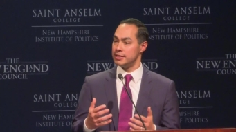 Julián Castro Speaks at 'Politics & Eggs' Event in NH