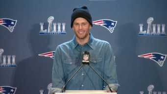 Brady on 9th Super Bowl: 'I've Been Beyond Blessed'