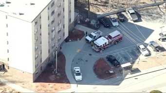 Buildings Evacuated After Gas Line Break Reported