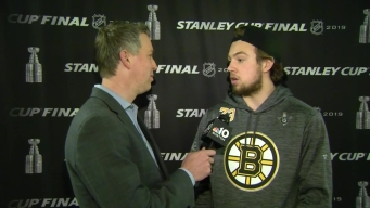 Charlie McAvoy on Composure and Torey Krug