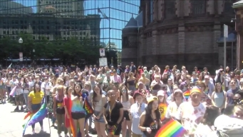 Thousands Appear at 2019 Boston Pride Parade