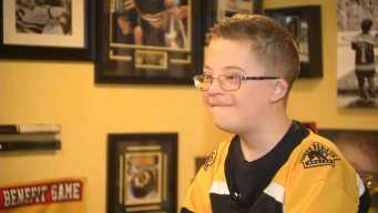 'Fist Bump Kid' Hopes for Bruins Victory in Stanley Cup