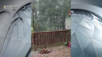 WATCH: Deck Pummeled by Hail in Newmarket, NH