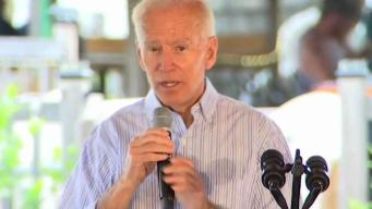 Biden Gives Pros and Cons of His Front-Runner Status