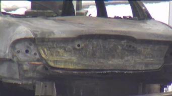 Body Found in Burning Car in Hope Cemetery