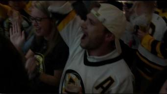 Bruins Fans Celebrate Game 3 Win