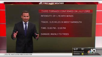 Cape Cod Tornado Count Rises to 3