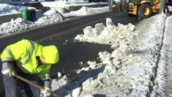 Crews Clear Catch Basins to Prevent Flooding