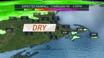 Drying Out and Staying Dry Most of This Week