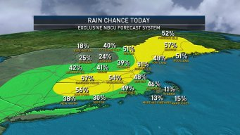 Flash Flooding Possible in Southern New England