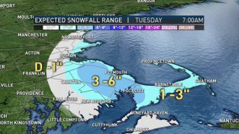 Some Snow; Winter Weather Advisory for Part of Mass.