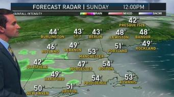 More Rain Sunday Before Brief Dry Spell Monday