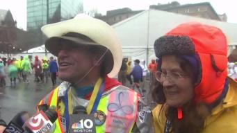 Hero Carlos Arredondo Runs First Boston Marathon