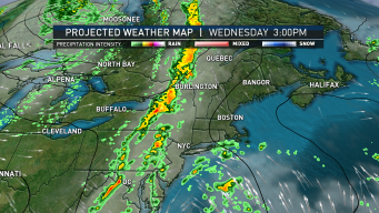 Cold Front to Bring Humid Air, Heavy Downpours to Some Areas