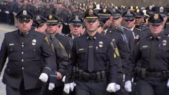 Fallen Officer Sean Gannon Honored at Funeral