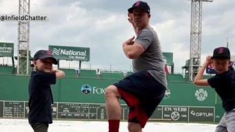 Families Pay Tribute to Jimmy Fund Captain Brock Holt