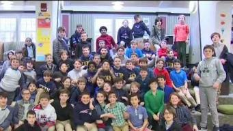 Fenn School in Concord Gets Weather Warrior Visit