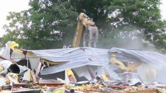 Demolition Begins in Preparation for Worcester's Polar Park