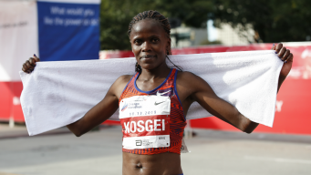 History Made! Brigid Kosgei Breaks World Record