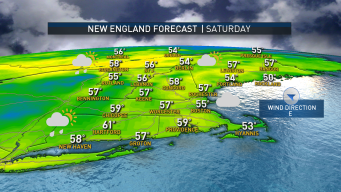 Showers Taper Off, Warmer Temperatures for Saturday