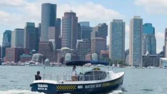 Hop Aboard the Water Taxi