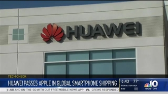 Huawei Passes Apple in Second Quarter