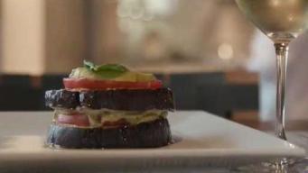 Hub Cooking Club: Vegan Eggplant Napoleon