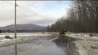 Ice Jam Leads to Major Flooding in Maine