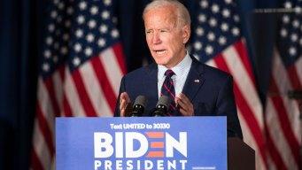 In NH, Joe Biden Says President Trump Must Be Impeached