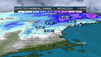 Separate Storm Systems to Bring Wintry Mixes to Region