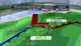 Warm Weekend Ahead of Soggy Marathon Monday