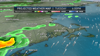 Warmer Temperatures Arrive With Chance of Storm Tuesday