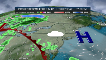 Dry Thursday Ahead of Friday Showers