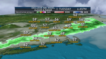 Scattered Showers & Thunder Expected Tuesday Evening