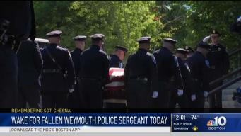 Large Turnout Expected for Services of Slain Police Sgt